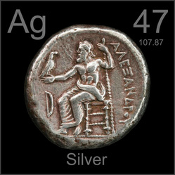 Basic information silver 47 the atomic number of silver is located in the upper right corner of the box on the periodic table the atomic number is the the amount of protons in urtaz Image collections